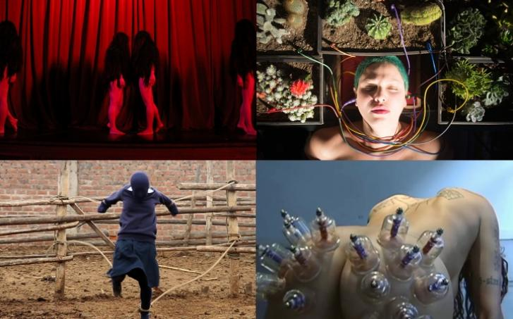 """Performance and Video Series """"En Cuatro Patas (on all fours)"""" at the Broad"""